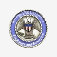 Engineers and Surveyors seal