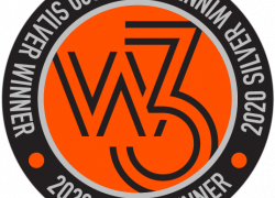 W3 Awards graphic