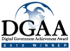 2013 Digital Government Achievement Award Winner