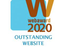 web award 2020 graphic