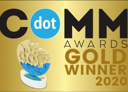 dotCOMM award graphic