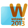 2013 Web Award Winner